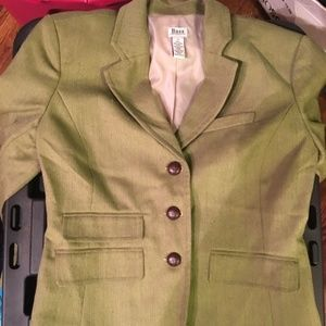 Bass women's green blazer size small